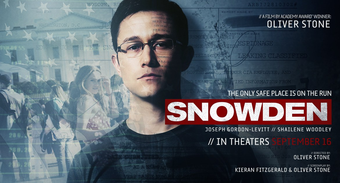Movie Review: 'SNOWDEN' deserves to be dropkicked by Jason Bourne