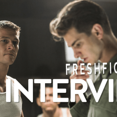 Vince Vaughn, Luke Bracey and Andrew Garfield fall in line in 'HACKSAW RIDGE'