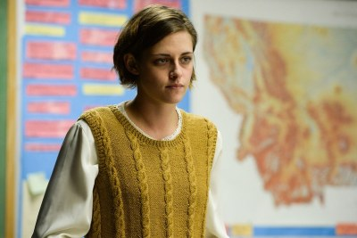 Kristen Stewart is eth Travis in CERTAIN WOMEN. Courtesy of IFC Films.