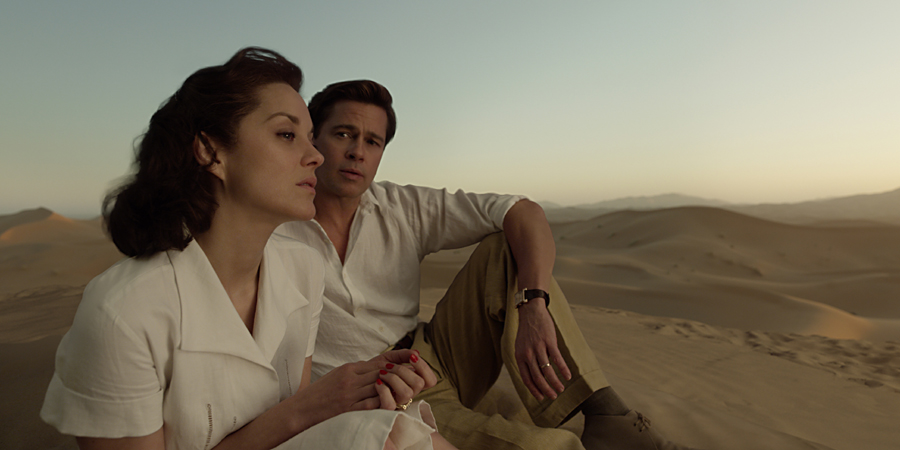 How filmmakers created that sandstorm love scene in 'ALLIED'