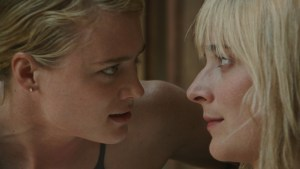 Mackensie Davis and Caitlin FitzGerald in ALWAYS SHINE. Courtesy of Oscilloscope Labs.