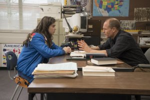 Hailee Steinfeld and Woody Harrelson in THE EDGE OF SEVENTEEN. Courtesy of STX Entertainment.