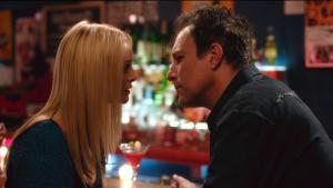 Heather Graham and John Corbett in the movie MY DEAD BOYFRIEND. Courtesy of Momentum Pictures.