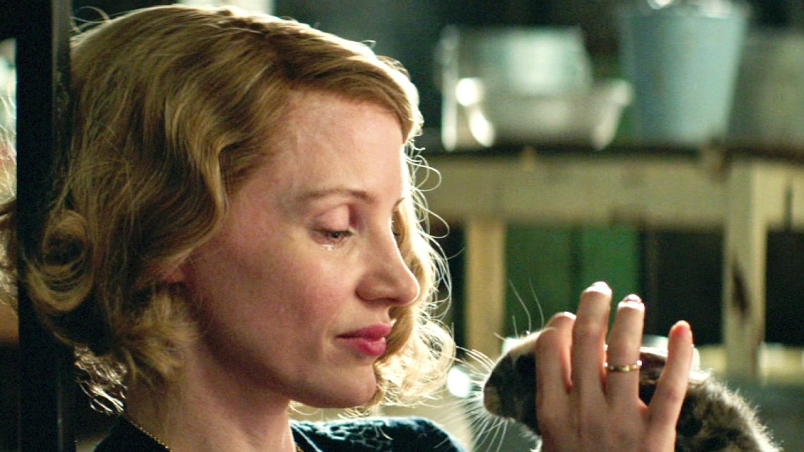 Movie Review: Humanity amid tragedy in 'THE ZOOKEEPER'S WIFE'