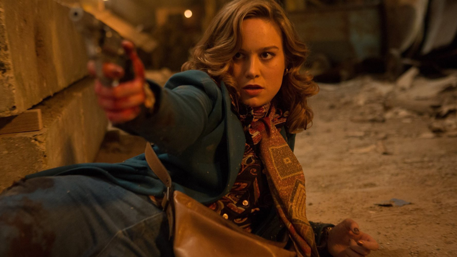 'FREE FIRE' opens Brie Larson up to a 'whole new level of stench'
