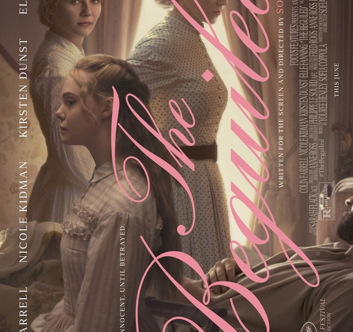 Beauty & betrayal are the strong themes in 'THE BEGUILED' poster