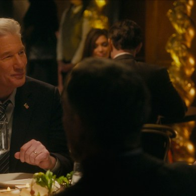 'THE DINNER', starring Richard Gere and Laura Linney, serves a cold, raw dish
