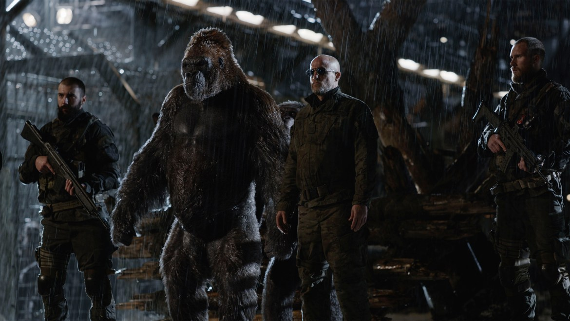 Movie Review: 'WAR FOR THE PLANET OF THE APES' – The Great EscAPE