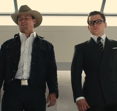 The 2nd 'KINGSMAN: THE GOLDEN CIRCLE' trailer is better than the 1st, but still unremarkable