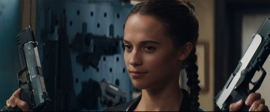 Could 'TOMB RAIDER' be the best movie based on a video-game?