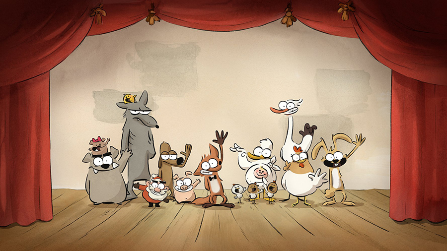 Animation is Film Fest Review: 'THE BIG BAD FOX AND OTHER TALES' is a love letter to comedy, hand-drawn animation