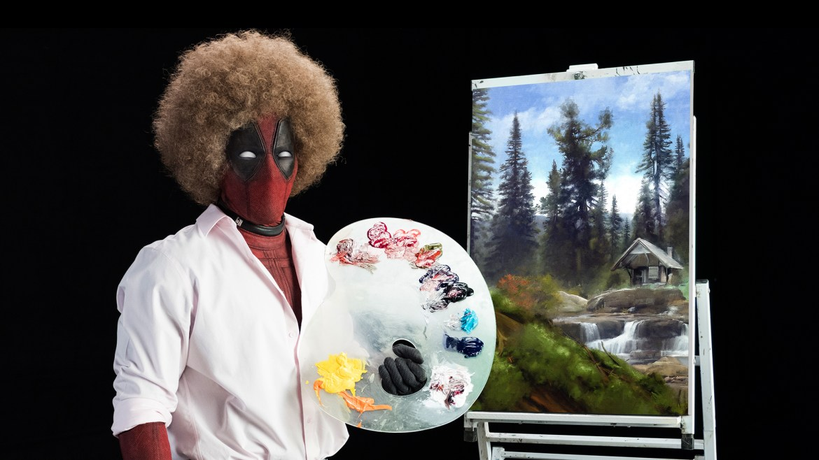 Ryan Reynolds paints a colorful teaser for 'DEADPOOL 2'