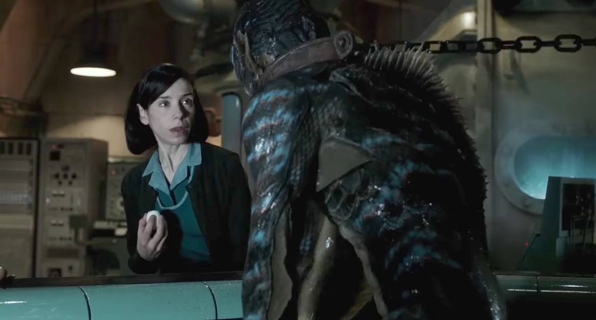 Movie Review: 'THE SHAPE OF WATER' – a poetic tale to soak up