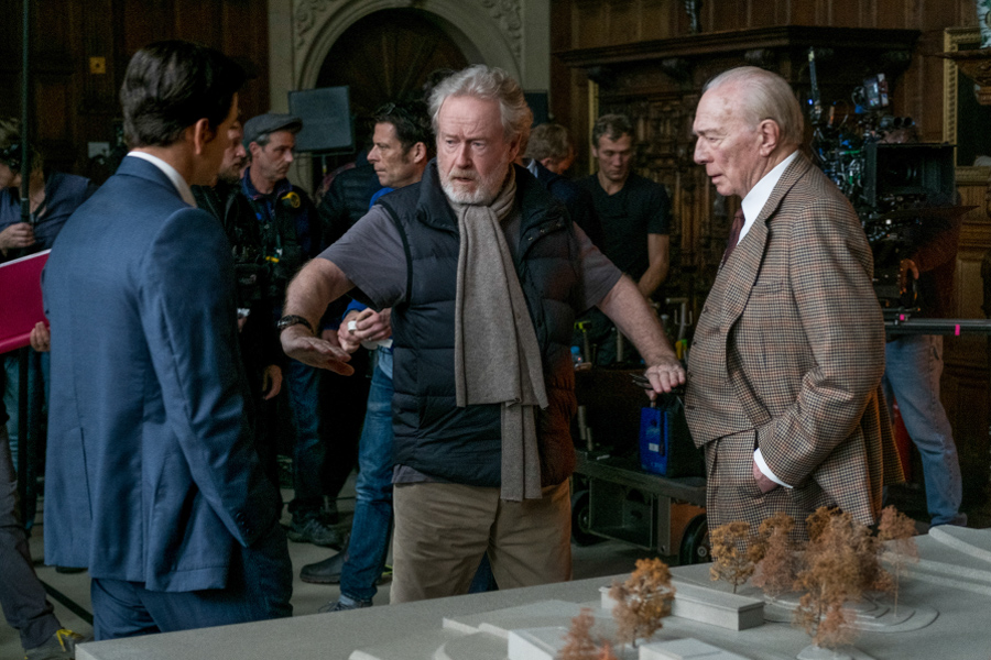 How director Ridley Scott was able to pull off the unthinkable with 'ALL THE MONEY IN THE WORLD'