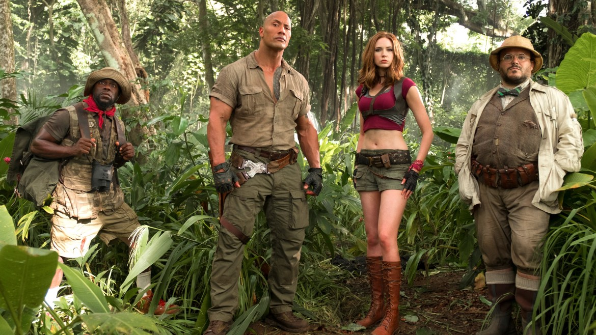 Movie Review: 'JUMANJI: WELCOME TO THE JUNGLE' – we got fun and games