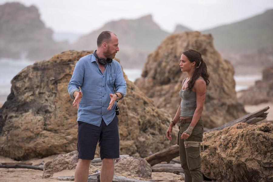 'TOMB RAIDER' director Roar Uthaug cracks the code to capturing a clever, capable heroine