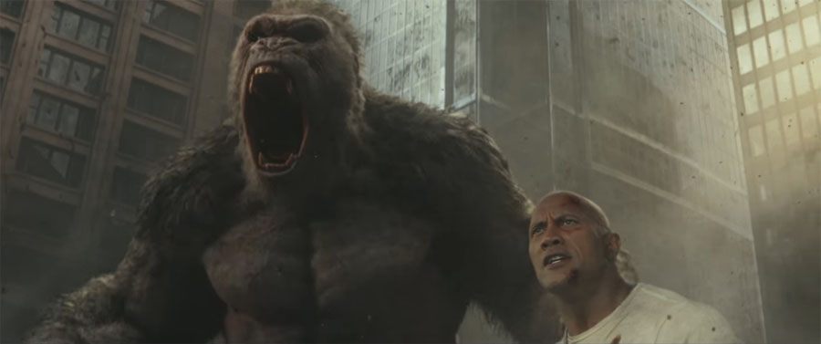 Fresh on Blu-ray: 'RAMPAGE' and 'ISLE OF DOGS'