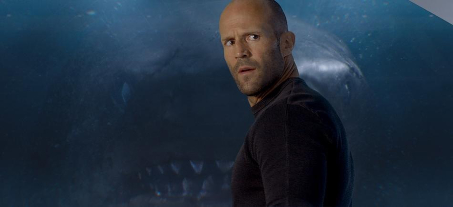 'THE MEG' is like 'JAWS' and 'JURASSIC PARK' on steroids