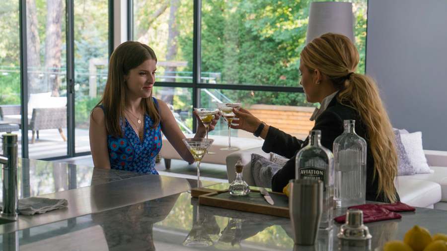 Blake Lively & Anna Kendrick are caught in a 'REAR WINDOW/ GONE GIRL' suspense in 'A SIMPLE FAVOR'