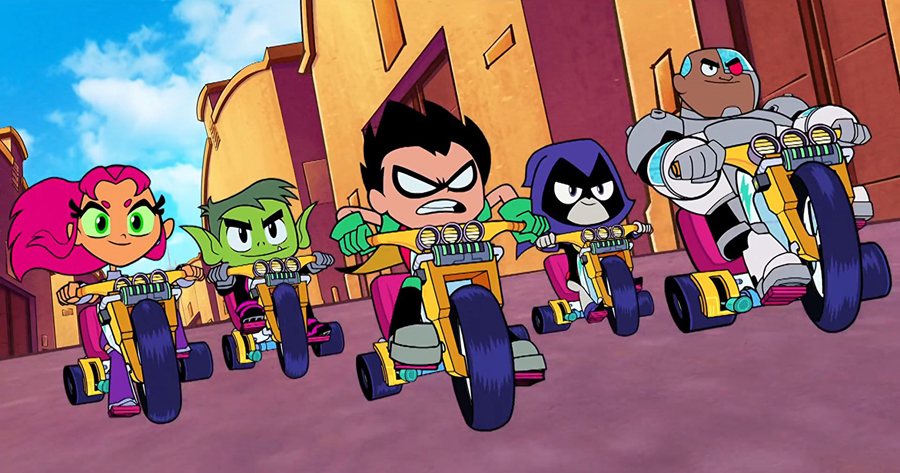 [Video Interview] 'TEEN TITANS GO! TO THE MOVIES' cast is super-powered