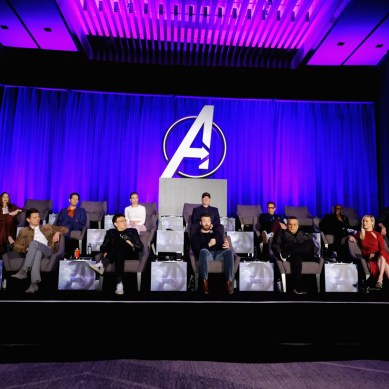 [INTERVIEW] Humor is the best defense at the 'AVENGERS: ENDGAME' press conference
