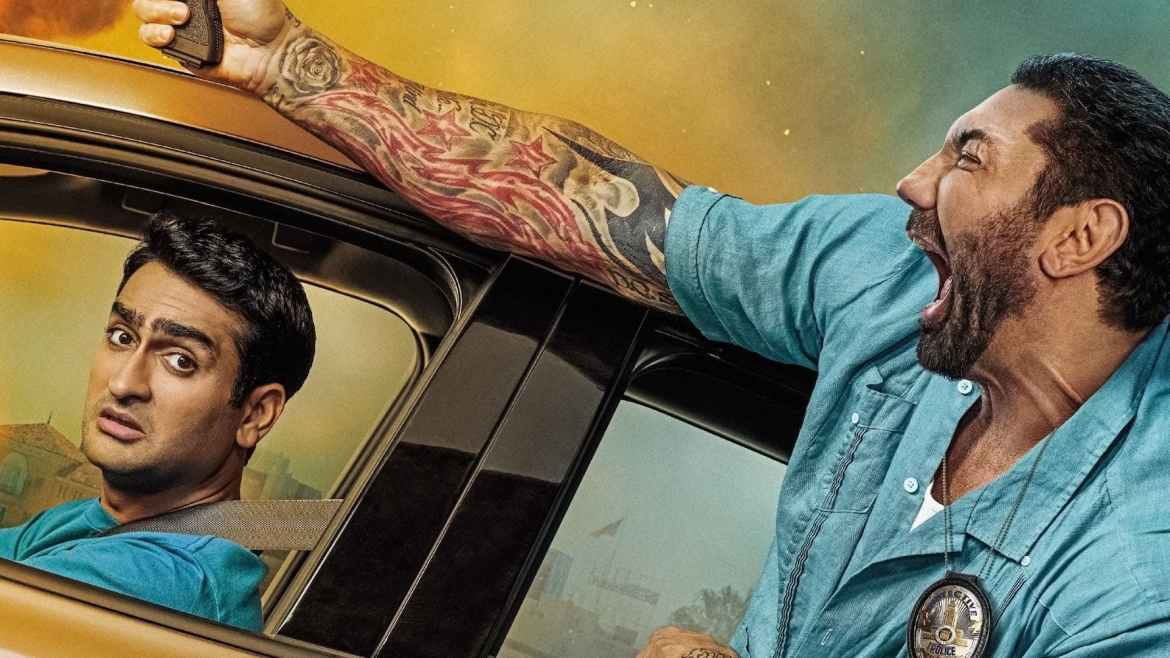 [INTERVIEW] Bautista, Nanjiani take us behind the wheel of their action-comedy 'STUBER'