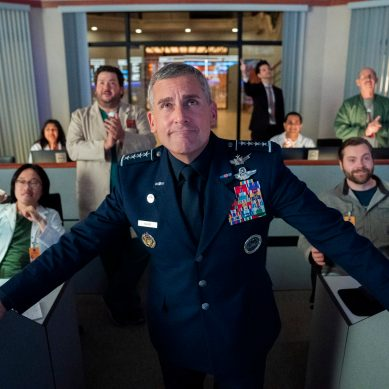 Star wars and geopolitics: Netflix comedy series 'SPACE FORCE' undocks from the possibility to matter