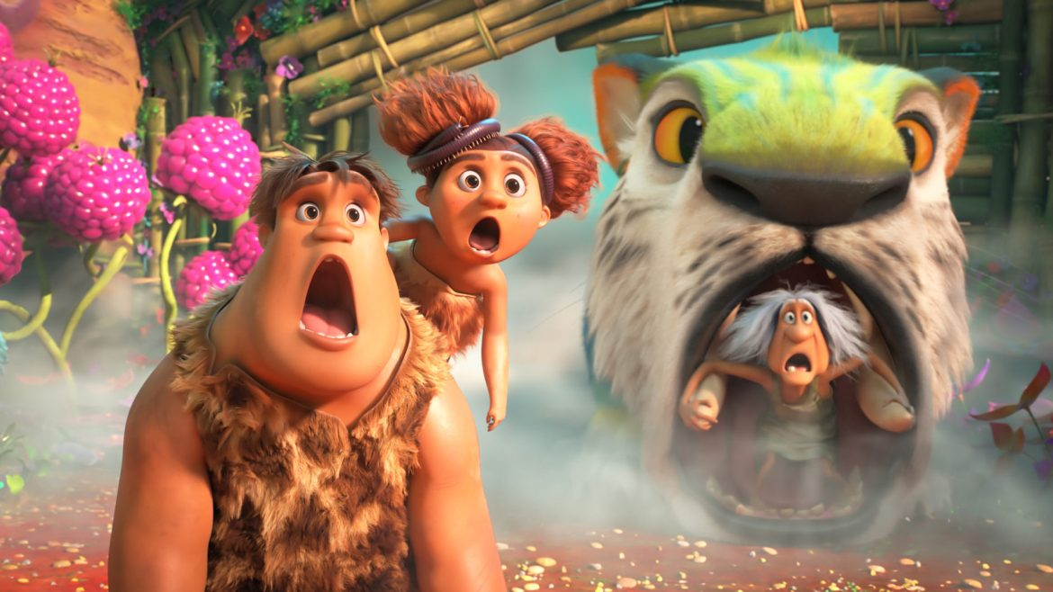 [Review] 'CROODS' sequel matches thunderous laughs with clever story beats and striking animation