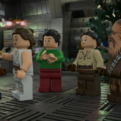 [Review] 'LEGO STAR WARS HOLIDAY SPECIAL' clinks together wink-wink comedy with a heartfelt message
