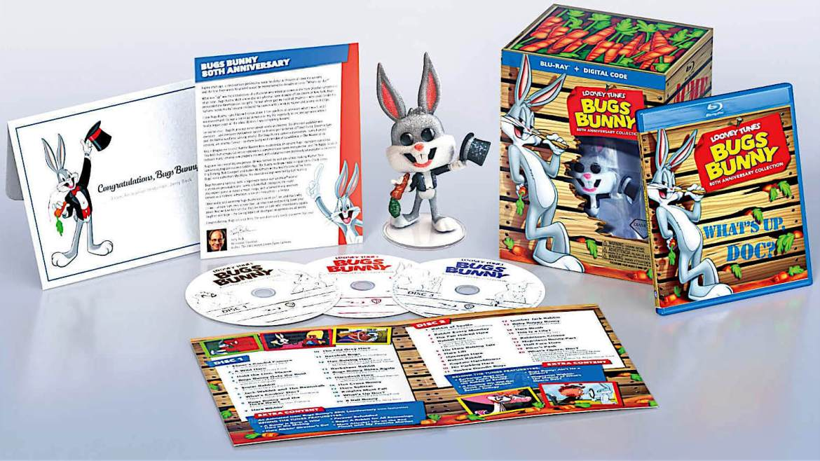 Anniversary Blu-ray Collection: Bugs Bunny receives a harebrained birthday gift set for 80th
