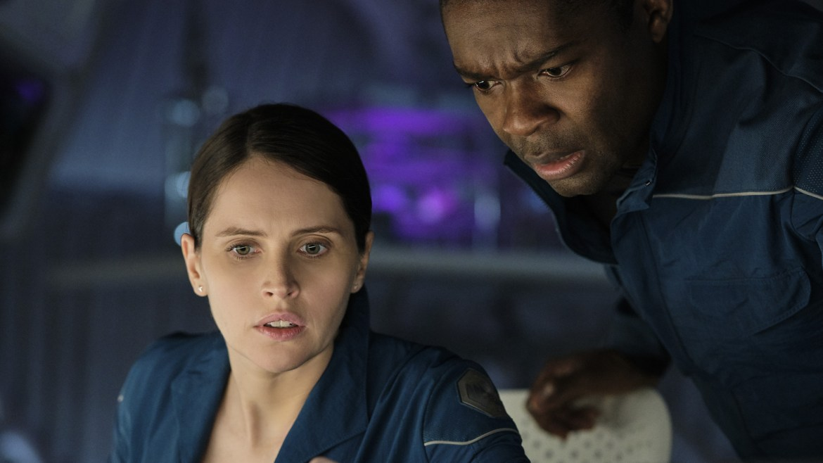 [Interview] Felicity Jones and David Oyelowo add personal touches to 'THE MIDNIGHT SKY'
