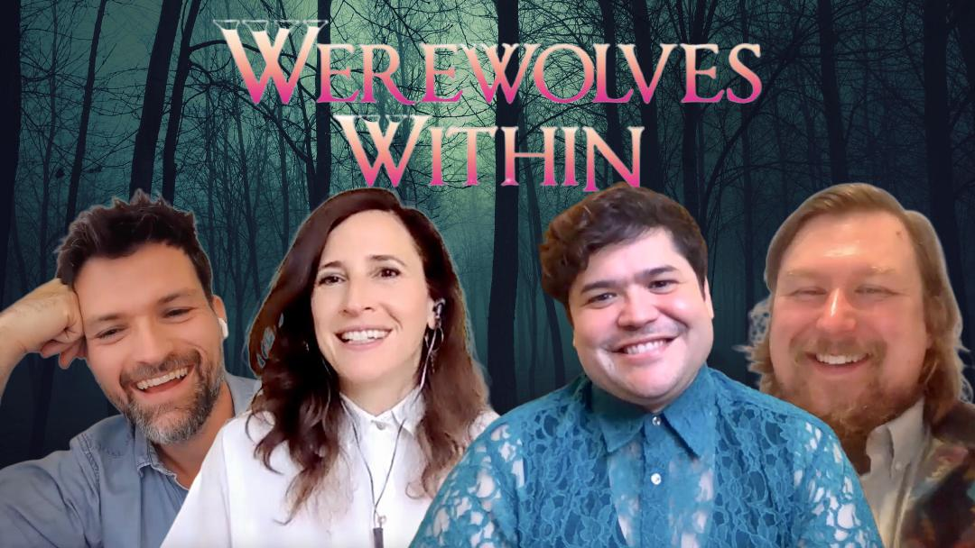 [Video Interview] 'WEREWOLVES WITHIN' cast & director unleash a horror whodunnit with some serious comedic bite