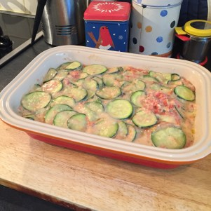 potato tomato zucchini casserole olive oil 3