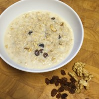 walnut raisin porridge 3