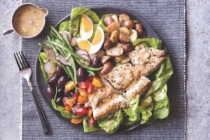 Rainbow Trout Niçoise Salad