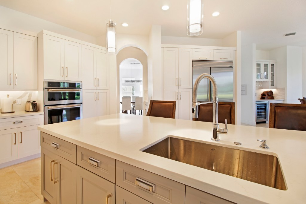 Gray Shaker Kitchen
