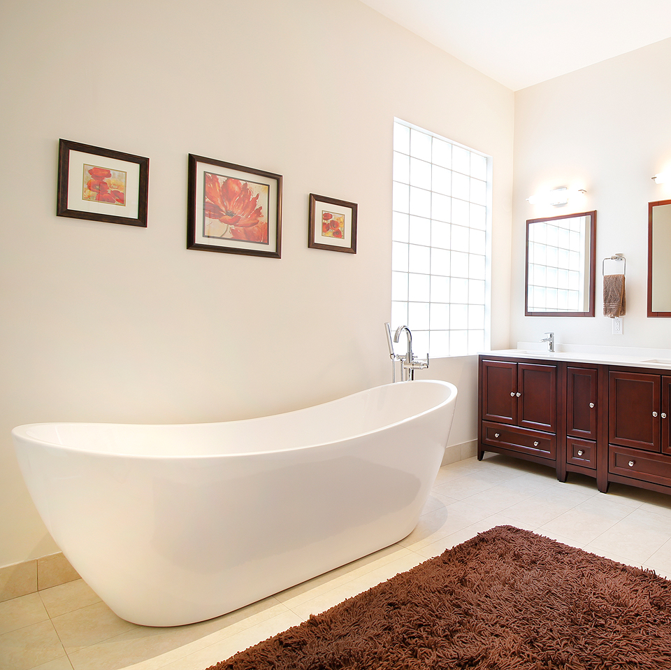 Polished Master Bathroom