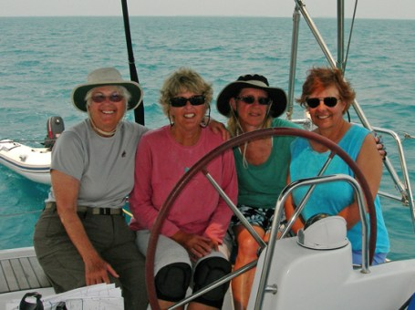 Jeannea, Karen, Carolyn and Donna