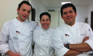 Working at Australia Week with Chef Luis and Chef Haris.