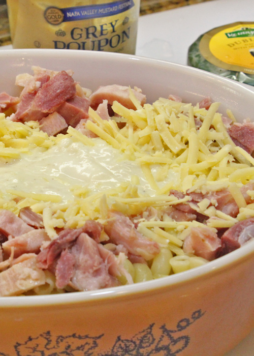 Mac, Ham and Cheese