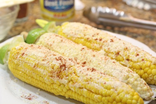 Grilled Mexican Street Corn ala Cafe Habana