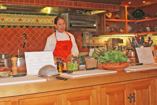 Teaching at Rancho La Puerta's La Cocina que Canta