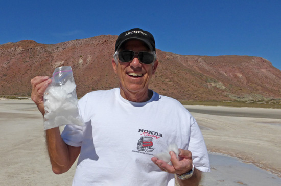 Harvesting Sea Salt at the Sea of Cortez from Fresh FoodinaFlash.com.