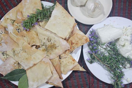 Home-Made Cracker recipe at FreshFoodinaFlash.com