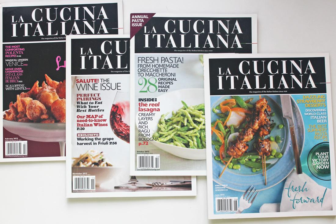 La Cucina Italiana Magazines