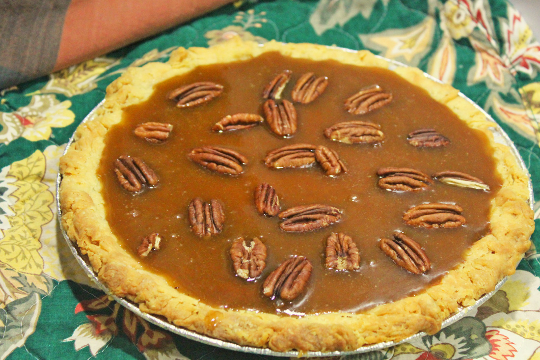 Sticky Toffee Pecan Pumpkin Pie from 2016 Pie Class.