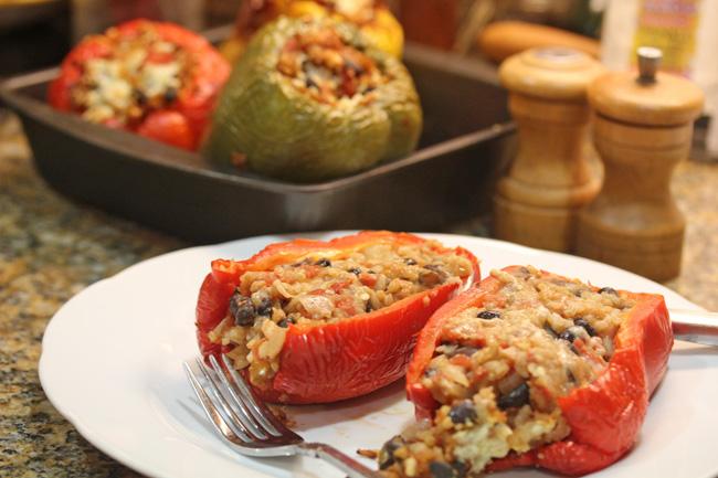 Mamacita's Vegetarian Peppers recipe at FreshFoodinaFlash.com