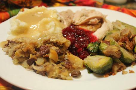 Thanksgiving Plate 2011