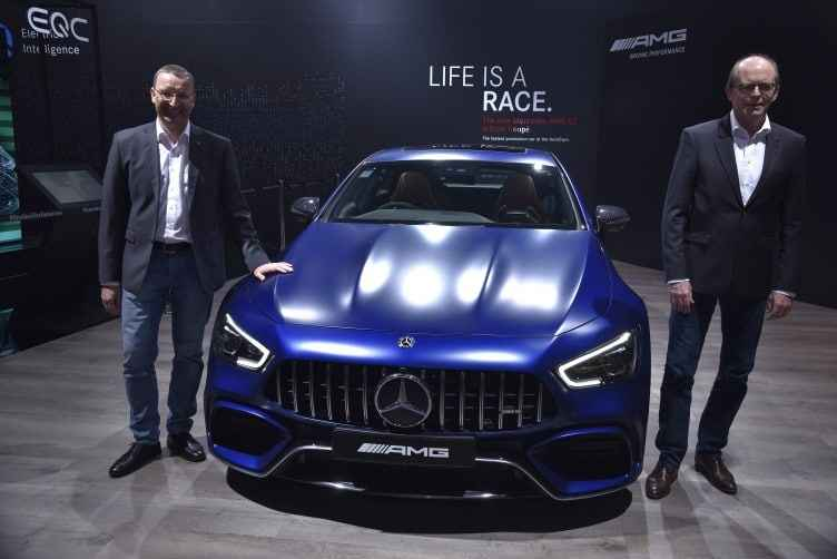 Mercedes Launches AMG A GT 63 S 4 Coupe at Auto Expo 2020