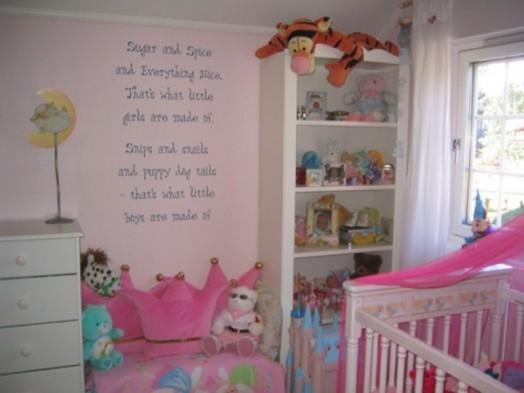 Bedroom themes for baby girl. originelle ideen für auffallende ...